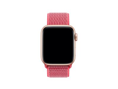 Bracelet en nylon rose pour Apple Watch 40mm