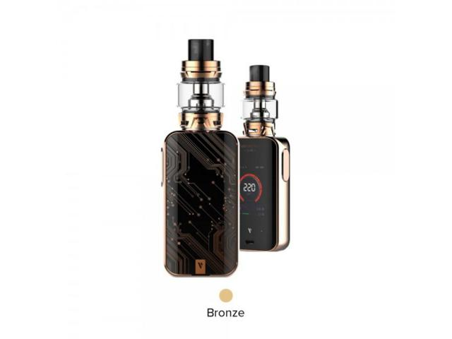 KIT LUXE 220W + SKRR 8ML VAPORESSO  BRONZE