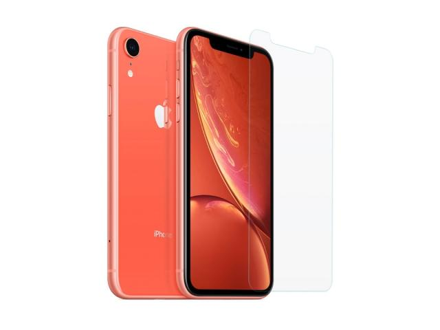 Lot de 3 protections en verre trempé pour iPhone XR