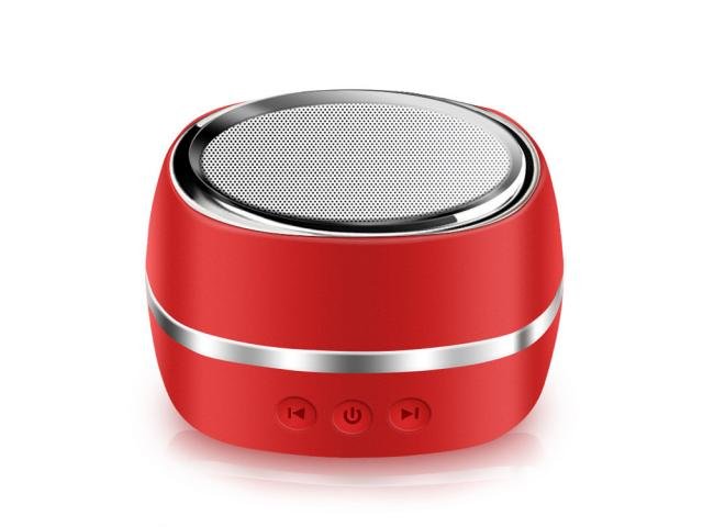 Enceinte Bluetooth iBass - Rouge