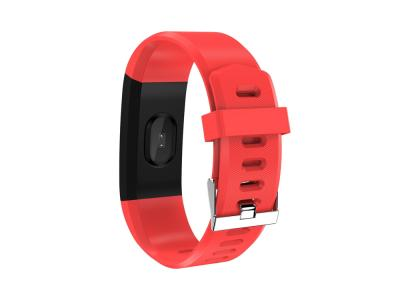 Bracelet connecté sport - Edition Fitness Color V2 - Rouge