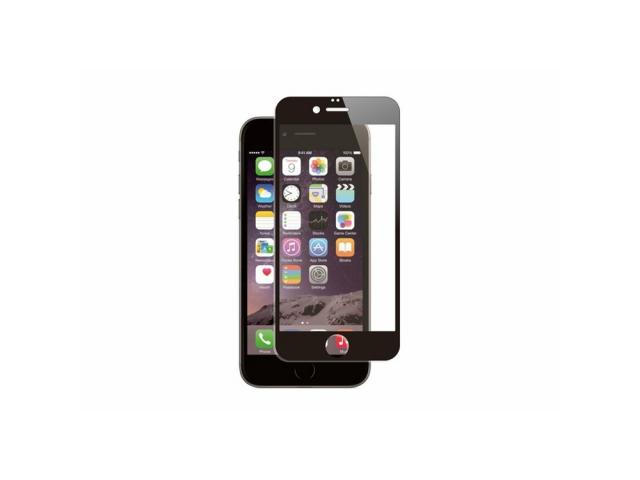 Muvit - FOR CHANGE VERRE TREMPE PLAT CONTOUR NOIR: APPLE IPHONE SE/8/7