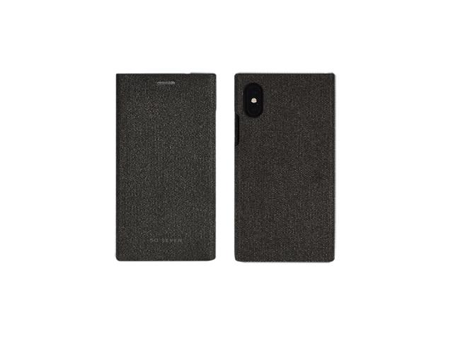 So Seven - FOLIO GENTLEMAN GRIS: APPLE IPHONE X/XS