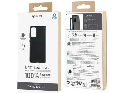 Muvit Change - MUVIT FOR CHANGE COQUE RECYCLETEK NOIRE: SAMSUNG GALAXY S20 FE